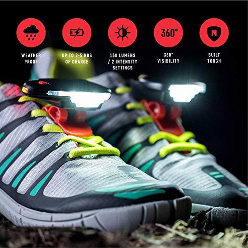 Night Runner 270 Shoe Lights - Red