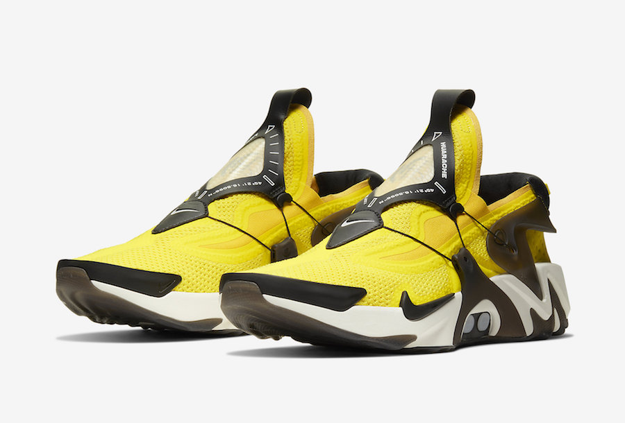 Nike Adapt Huarache Opti Yellow BV6397-710 Release Date ...