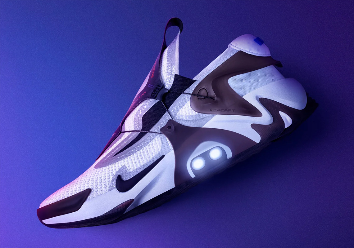 Nike Adapt Huarache White Black BV6397-110 Release Date ...