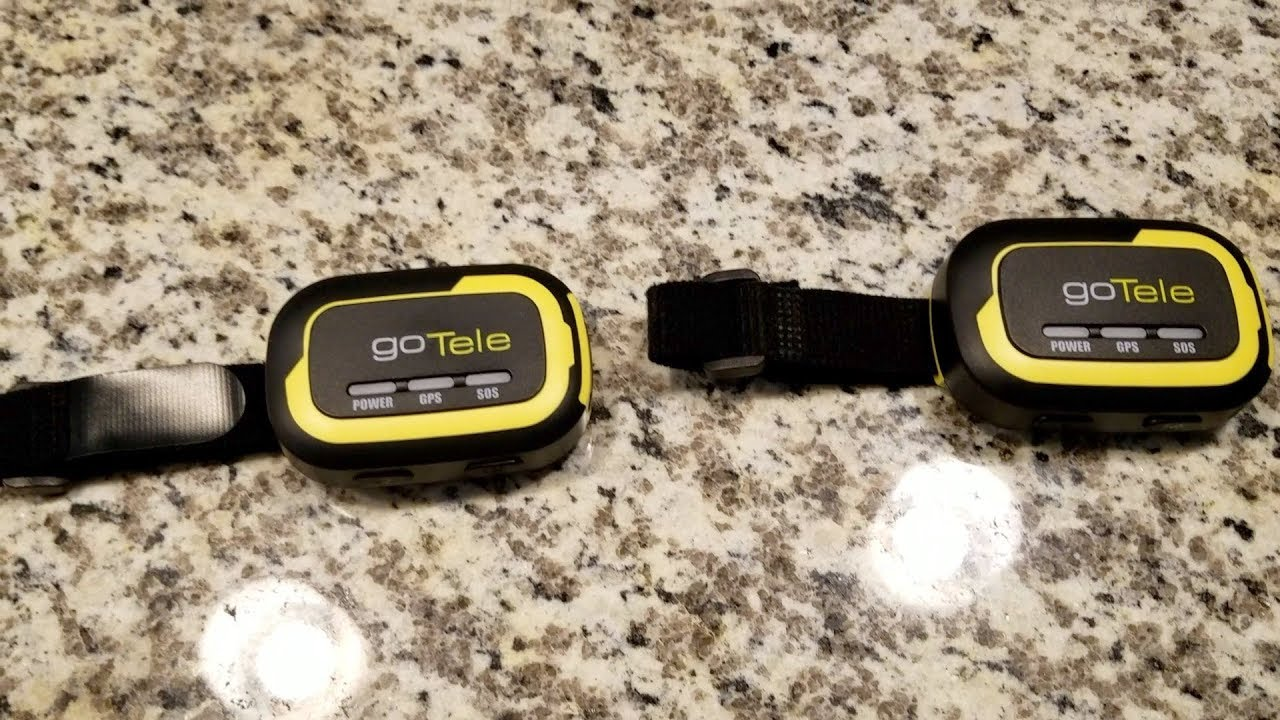 No subscription GPS tracker from goTele - YouTube