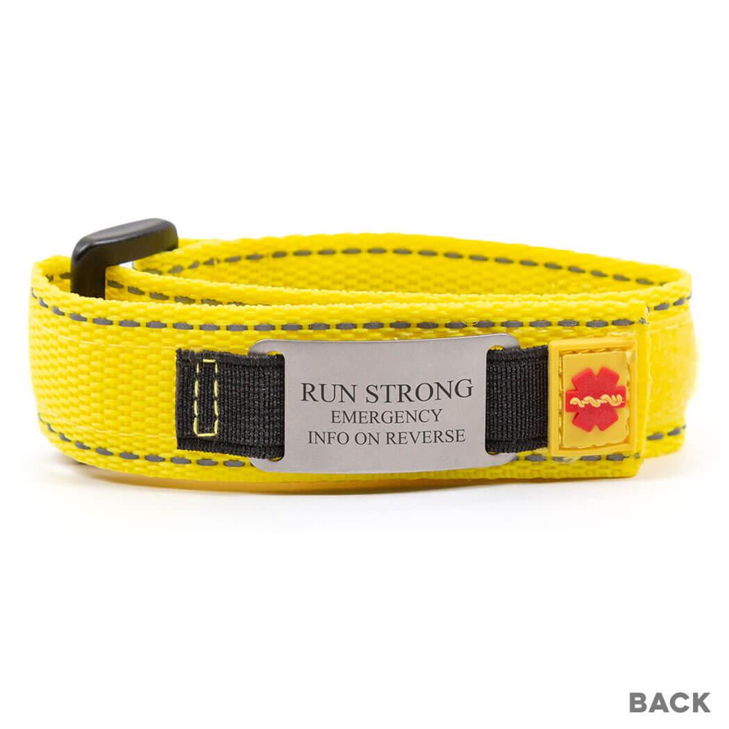 Nylon IDmeBAND Tech ID Bracelet | Running ID Bracelets ...