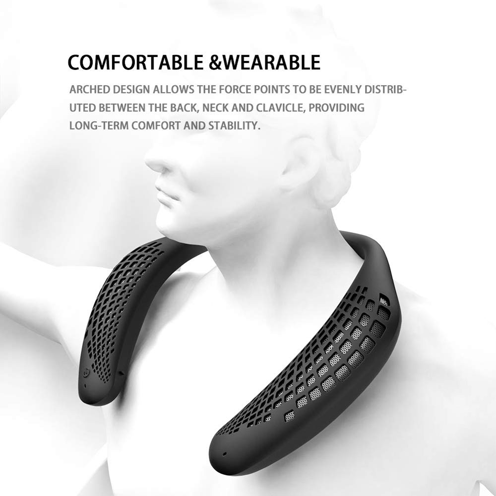 Oraolo Neckband Bluetooth Speakers | DudeIWantThat.com