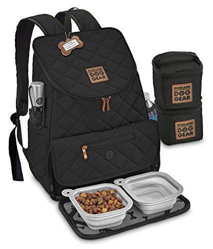 Overland Dog Gear Weekender Backpack (Black)