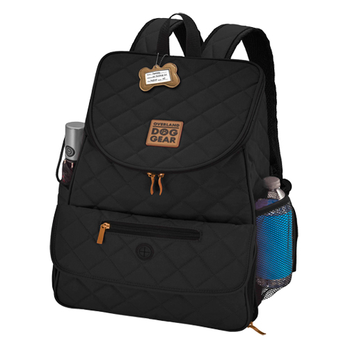 Overland Dog Gear™ Weekender Deluxe Quilted Backpack ...