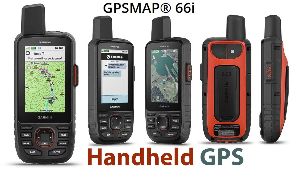 Overview of Garmin GPSMAP 66i (GPS Handheld and Satellite ...