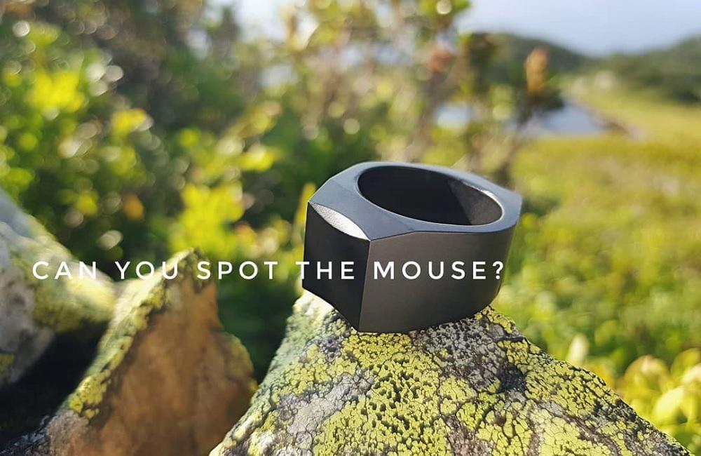 Padrone, Mouse Shaped Fashionable Ring - Teknologi.id