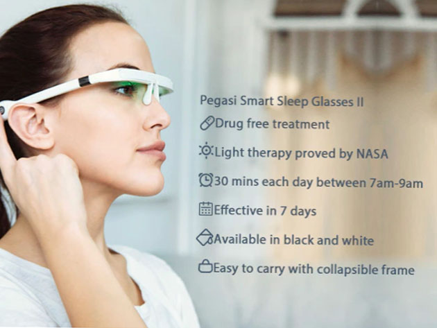 PEGASI 2: Smart Light Therapy Glasses | New Atlas Deals
