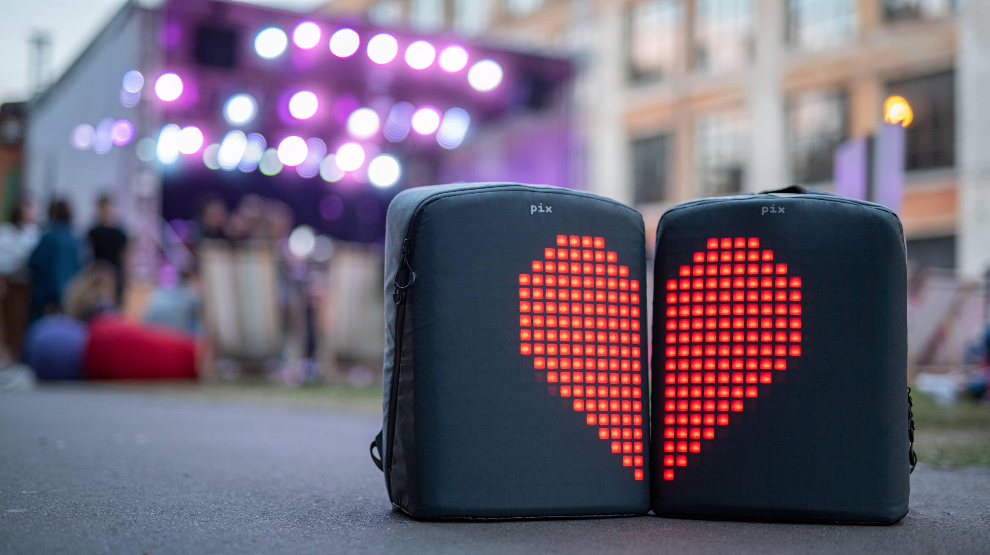 Pix Digital Backpack - Grey - Kefi