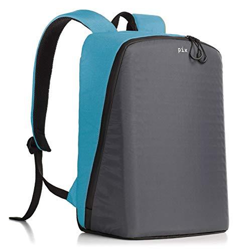 Pix Digital Customizable Backpack – CYAN