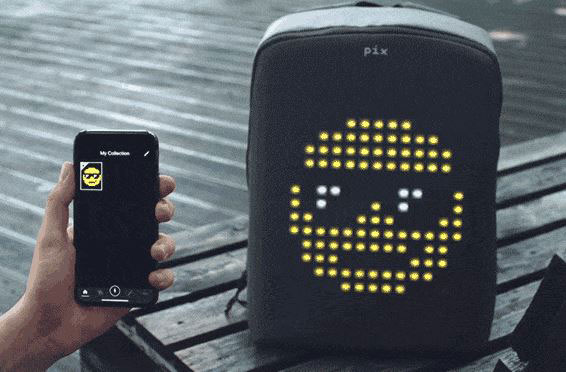 PIX Smart Backpack Can Display Games & Animations