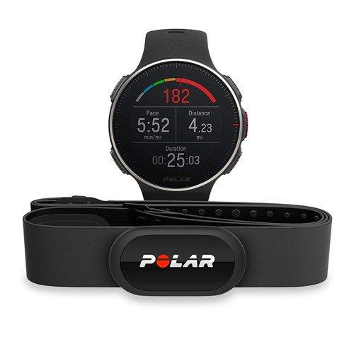 Polar Vantage V Titan Multisport Watch With HRM - Black/Red