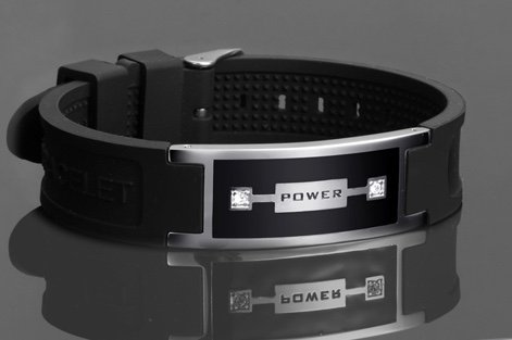 Power Wristband with Ions