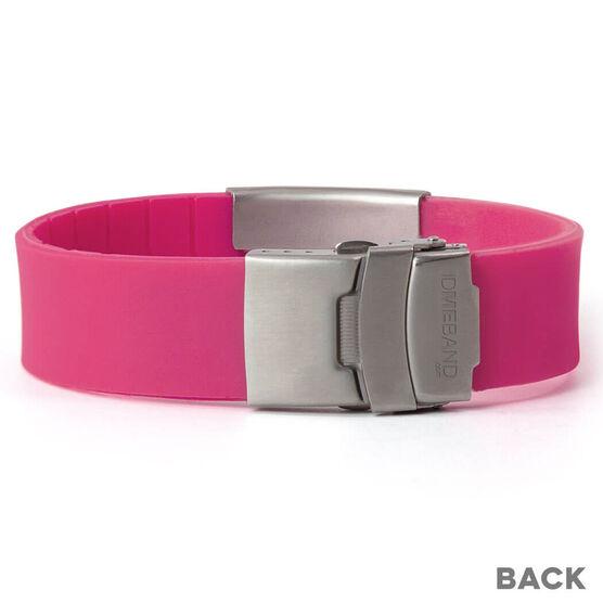 Premier Silicone IDmeBAND Bracelet | Medical ID Bracelet ...