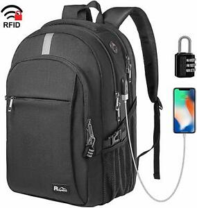 Raydem Business Laptop Backpack, Extra Large TSA Friendly ...