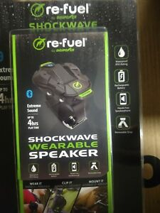 Re-fuel Shockwave Wearable Speaker by Digipower/ up to ...