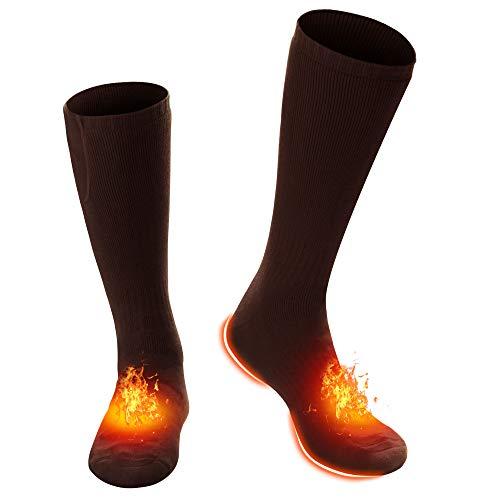 Rechargeable Heating Socks - BROWN