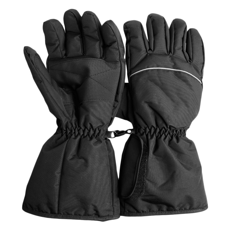 Rechargeable Winter Thermal Heated Gloves Waterproof ...