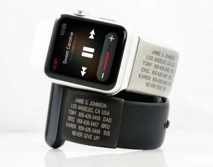 Road ID Apple Watch