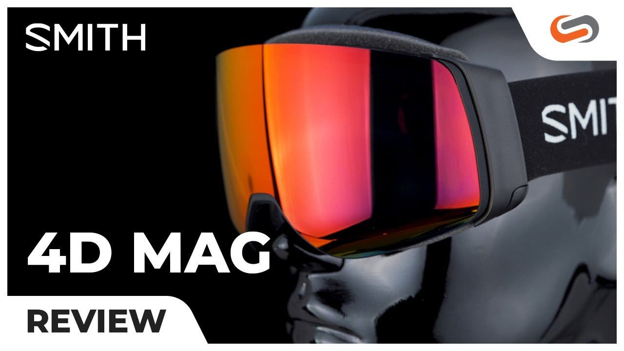 Review: SMITH 4D MAG Snow Goggles | SportRx
