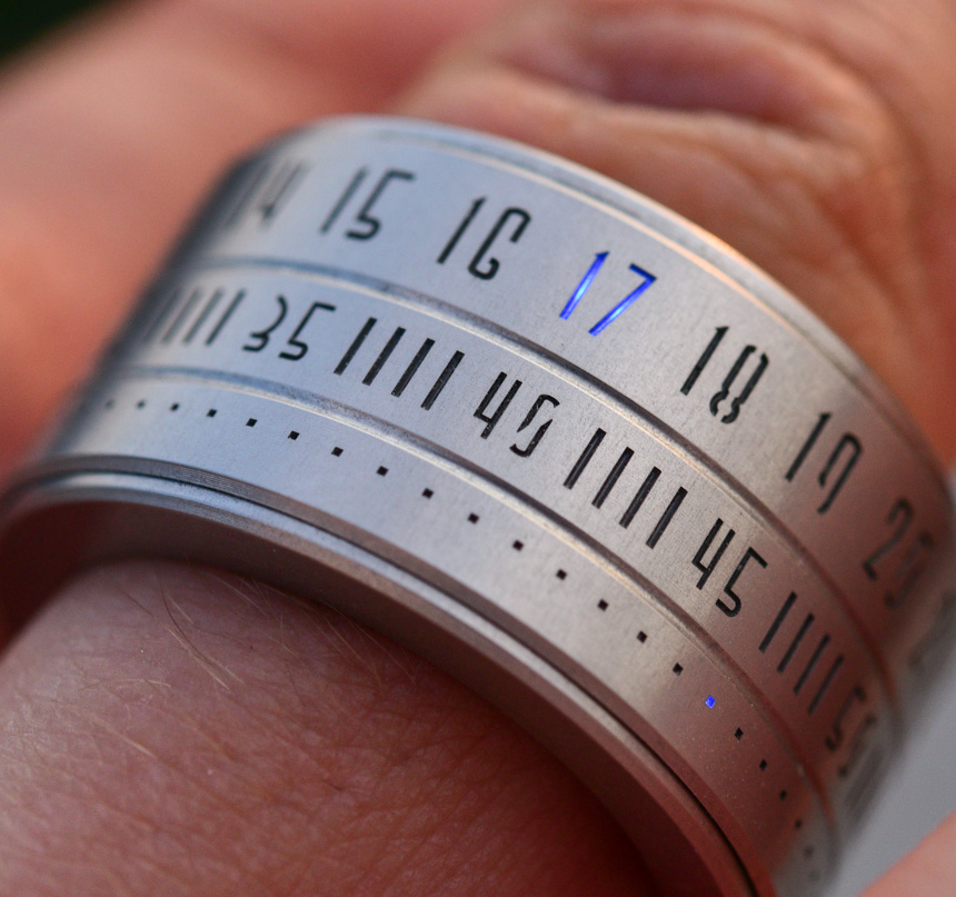 Ring Clock – Or Rather 'Ring Watch' – Review | aBlogtoWatch