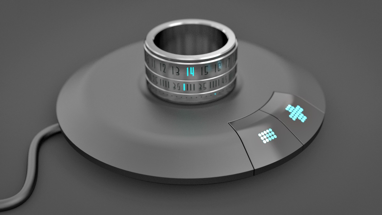 Ring Clock: your Watch on your Finger - GetdatGadget