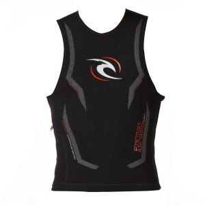 Rip Curl H-Bomb Vest Wetsuit - Black | Free UK Delivery ...