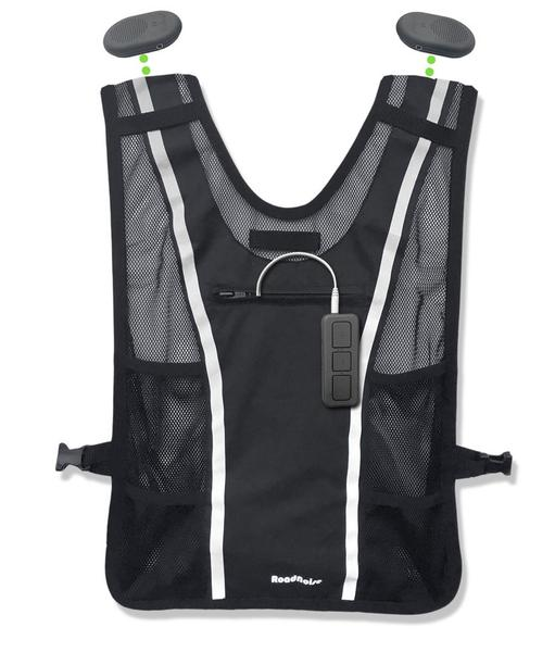 Roadnoise Long Haul Vest with Speakers and Amplifier ...