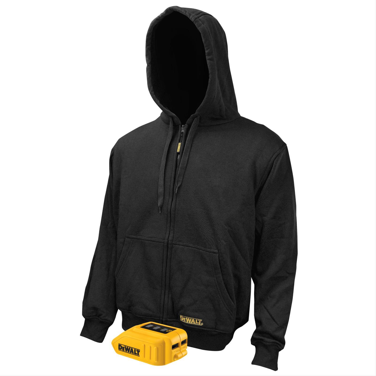 Safety Products Inc - DeWalt® Black Heated Hoodie