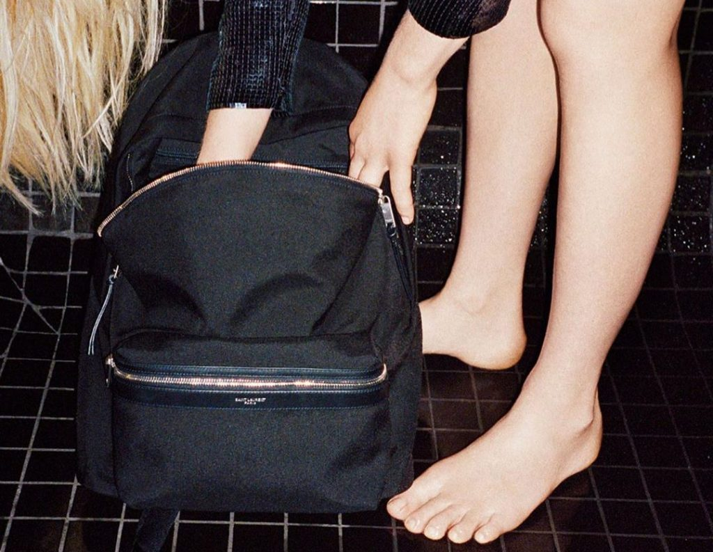 Saint Laurent collaborates with Google for Cit-e Backpack ...