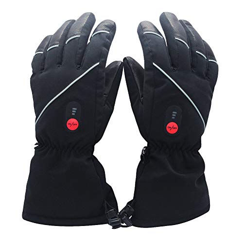 Savior Heated Gloves for Men Women, Skiing Heated Gloves,Arthritis Glove
