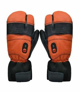 Savior Heated Mittens for Men Women, Battery Heated Gloves ...