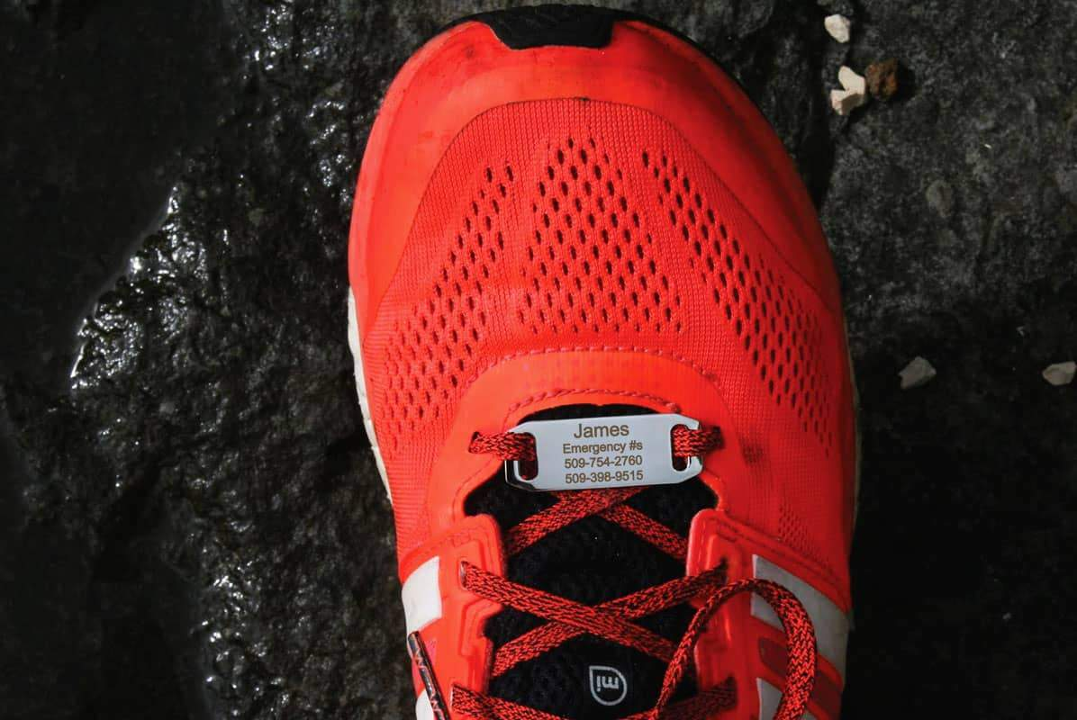 Shoe ID Tags for Runners, Cyclists, Athletes | Engraved ...