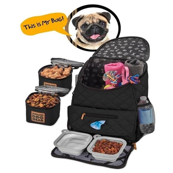 Shop Overland Dog Gear Weekender Backpack - Free Shipping ...