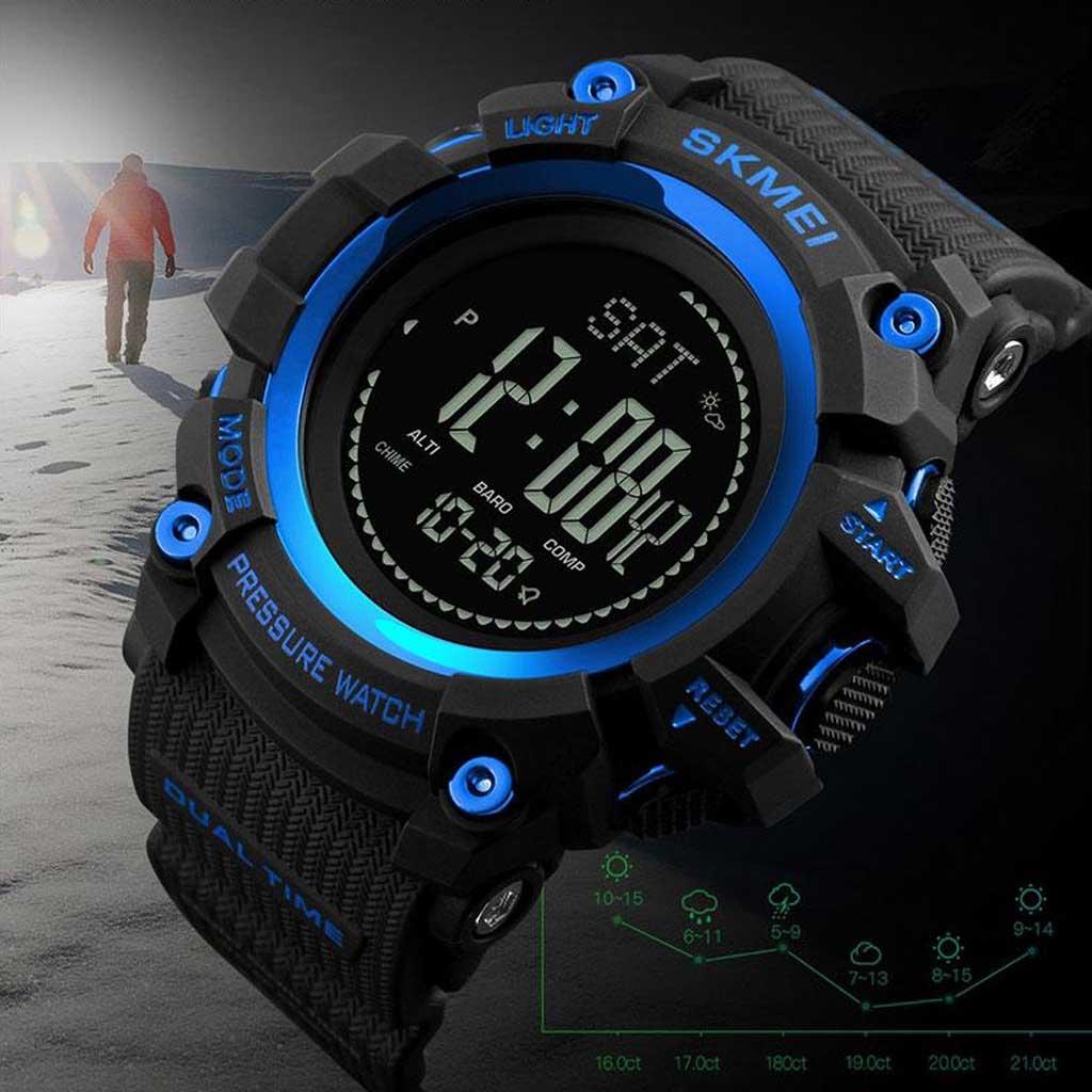 SKMEI 1358 Countdown Pressure Compass 30M Sport Watch W258 ...