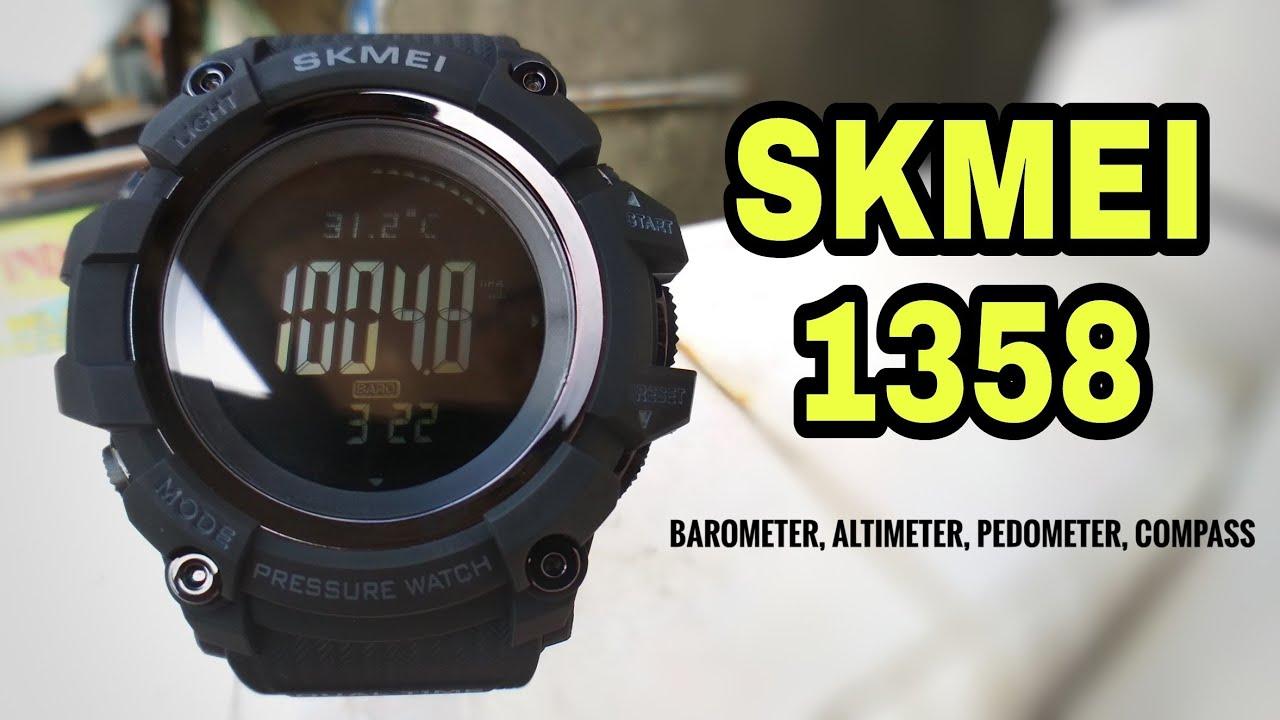 SKMEI 1358 Super BADAK - Unboxing, Review, Setup and Test ...