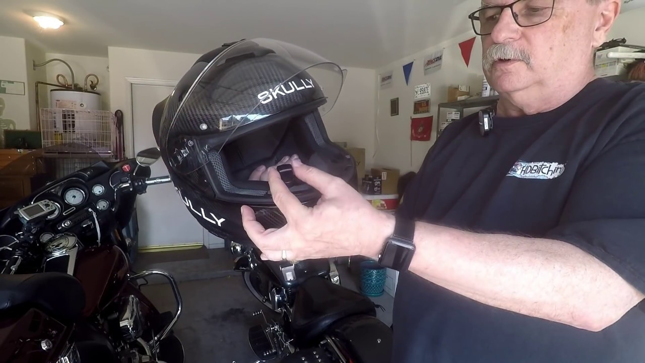 Skully Fenix AR Helmet Review - YouTube