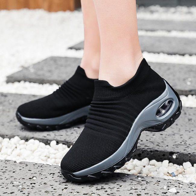 Slow man women's Walking Shoes Sock Sneakers | Running Shoes
