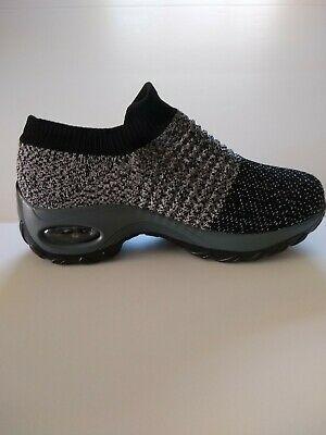 Slow Man Women's Walking Shoes Sock Sneakers size 38/ 7.5 ...