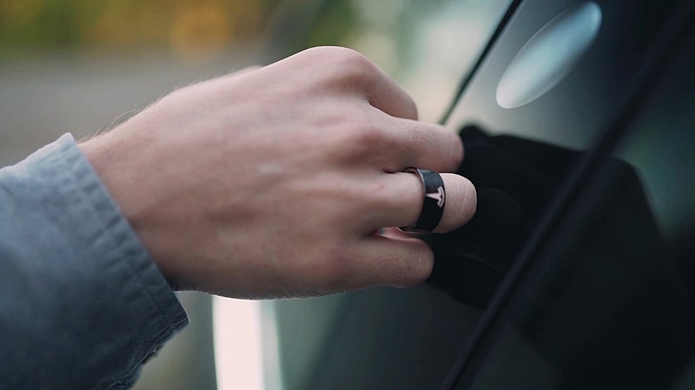 Smart Ring | Tesla Key Ring
