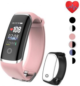 Activity Tracker + Bood Oxygen HR Monitor 8