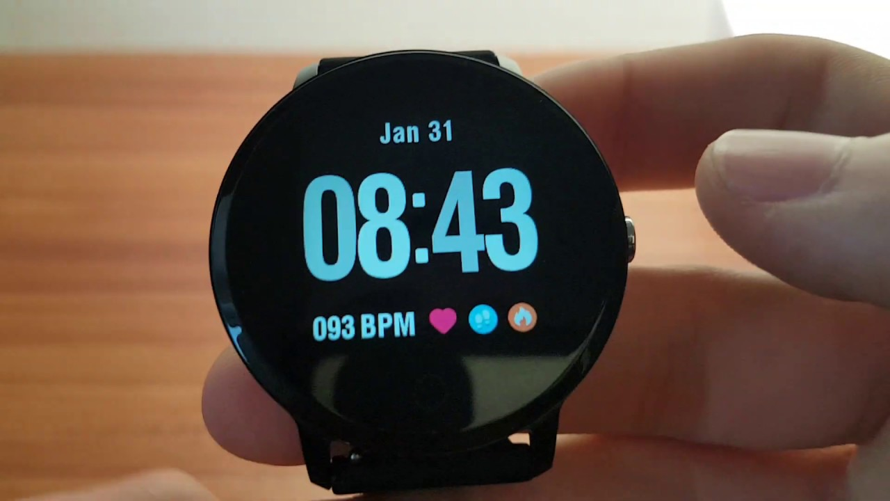 Smartwatch Colmi v11   Recenzia - YouTube