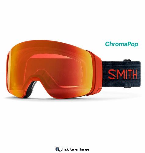 Smith Optics 4D MAG Snow Goggles Chromapop Everyday Red ...