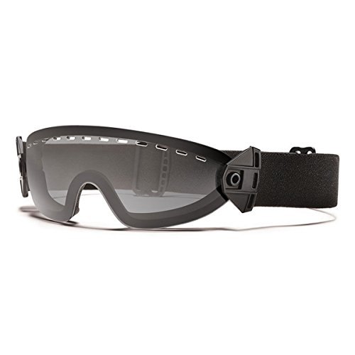 Smith Optics Boogie Soep Adult Tactical Elite Goggles - Black Strap/Gray Lens/One Size