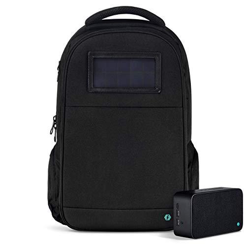 Solgaard Lifepack/Solarbank/Boombox Backpack - STEALTH BLACK