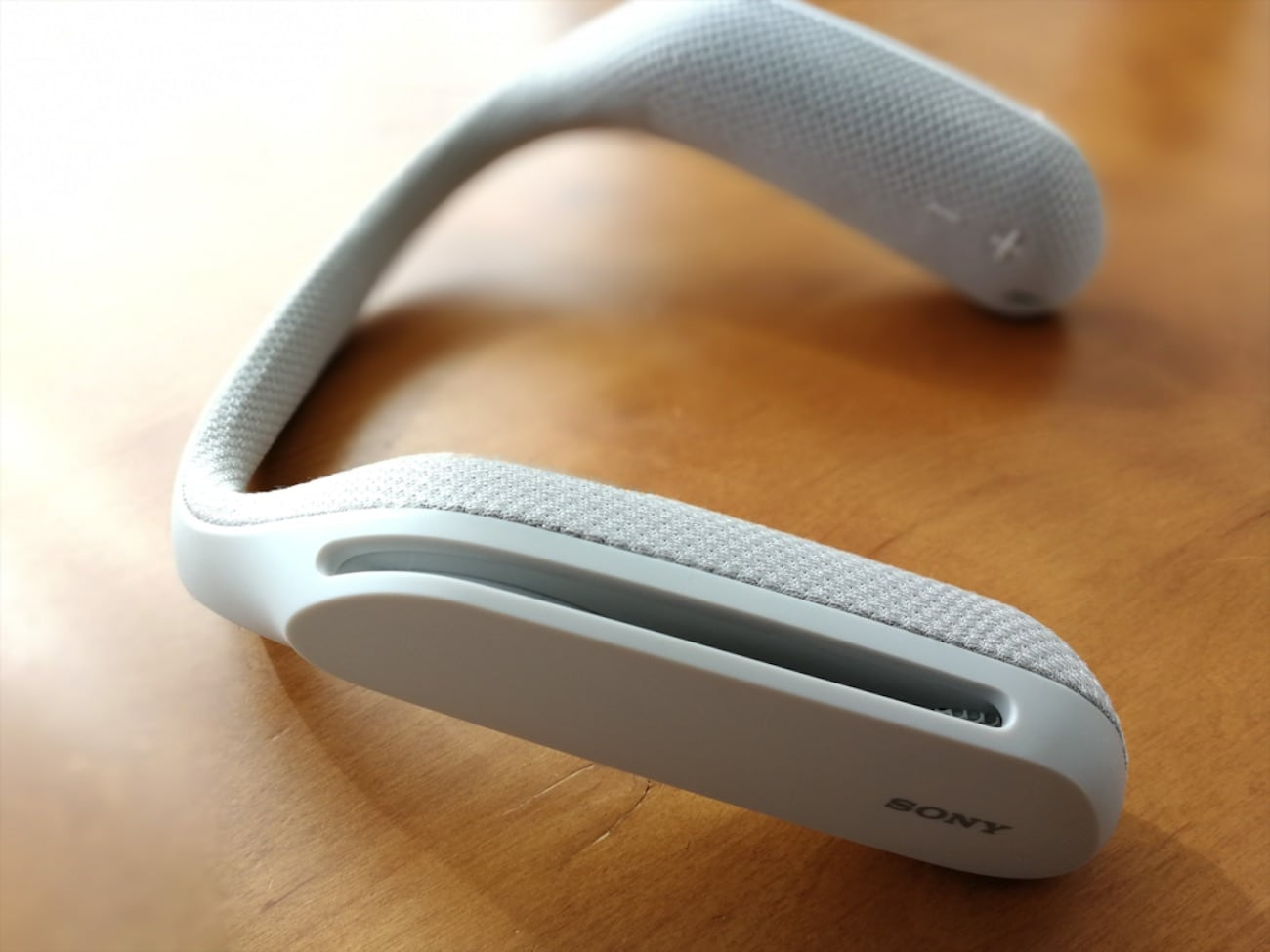 Sony SRS-WS1 Wearable Neck Speaker » Gadget Flow
