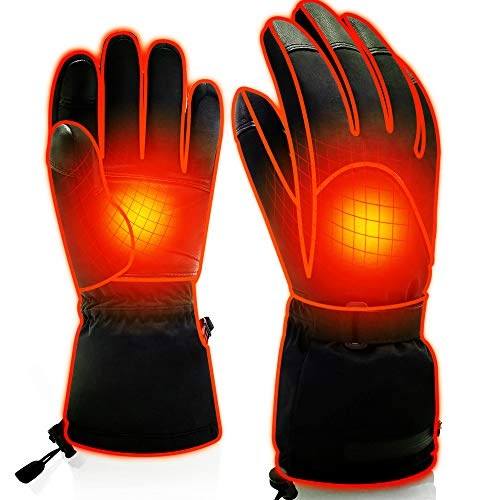 Spring Heated Gloves (Upgraded 7.4V-L)