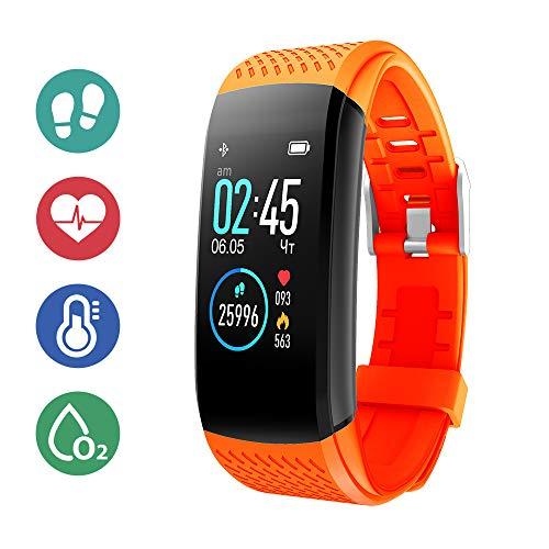 Superme Fitness Activity Tracker - Orange