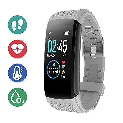 SUPERME! Fitness Activity Tracker - Gray
