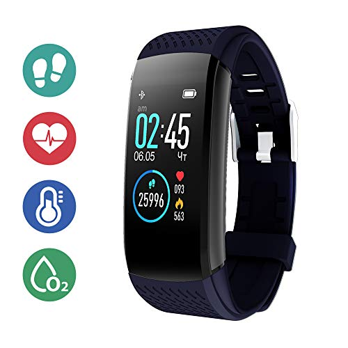 SUPERME! Fitness Activity Tracker - Blue
