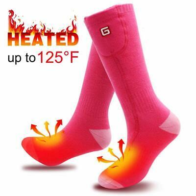 SVPRO Electric Rechargeable Battery Heated Socks Men Women ...